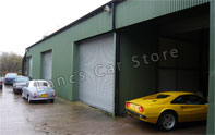 secure car garage in Preston